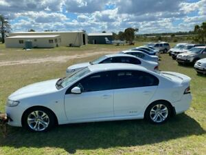 2011 Ford Falcon FG MK2 XR6 White 6 Speed Auto Seq Sportshift Sedan Applethorpe Southern Downs Preview