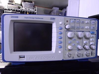 Bk Precision 2530b 25mhz Oscilloscope  Calibrated