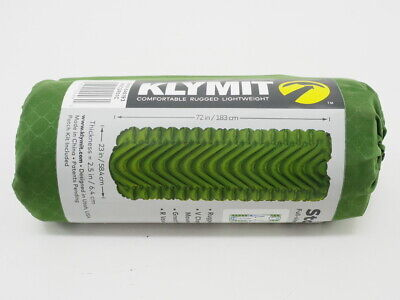 New! Klymit Static V Camping/Backpacking Sleeping Pad Regular (72 x 23 x 2.5in)