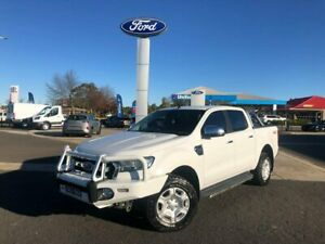 2016 Ford Ranger PX MkII XLT Double Cab White 6 Speed Sports Automatic Utility Kilmore Mitchell Area Preview