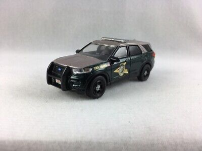 NEW HAMPSHIRE STATE POLICE CUSTOM 2020 FORD EXPLORER SUV - 1/64 SCALE