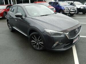 2015 Mazda CX-3 DK4WSA Akari SKYACTIV-Drive i-ACTIV AWD Grey 6 Speed Sports Automatic Wagon North Lakes Pine Rivers Area Preview