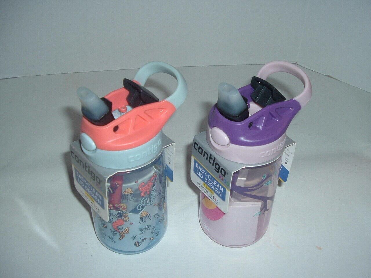 2 kids autospout 14 oz water bottles