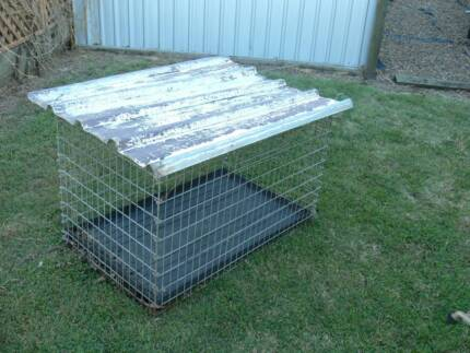 DOG CAGE (STEEL) Redbank Plains Ipswich City Preview