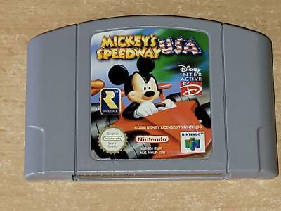 Mickey's Speedway Ee.uu. N64 Nintendo 64 Pal Reino Unido (Cart Solamente)
