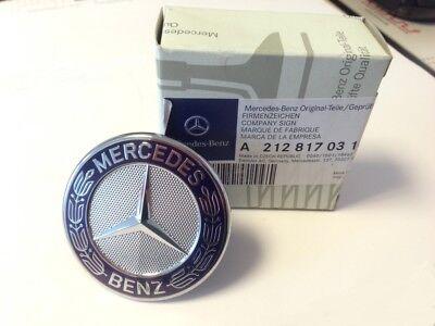 orig. Mercedes Emblem für Motorhaube (nur E-Klasse W212/S212) -NEU-