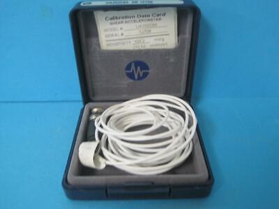 Pcb Piezotronics 357b01 Shear Accelerometer Ua352c65 Sensitivity 103.210.52
