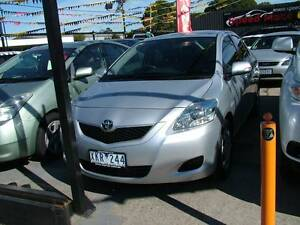 FROM ONLY $49 P/WEEK ON FINANCE* 2009 TOYOTA YARIS YRS 08 SEDAN Coburg North Moreland Area Preview