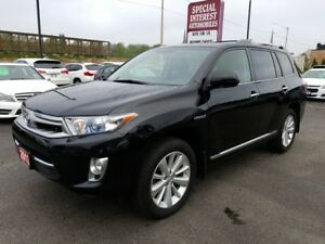 2013 Toyota Highlander Hybrid Limited CLEAN CAR PROOF !!  ONT...