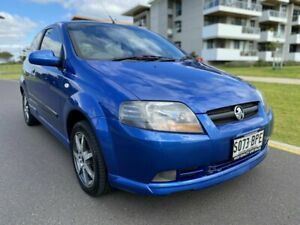 2007 Holden Barina TK MY07 Blue 5 Speed Manual Hatchback Somerton Park Holdfast Bay Preview