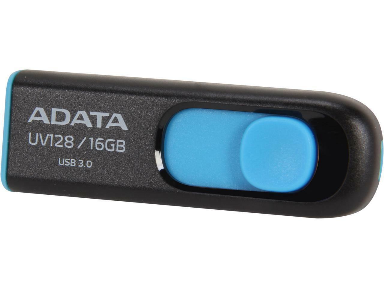 New ADATA 16GB 32GB UV128 USB 3.2 Flash Pen Thumb Drive Genu