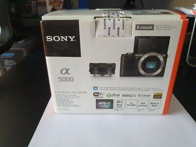 Sony Alpha 5000 20.1 Mpix - Appareil photo numérique hybride + 16-50mm objectif