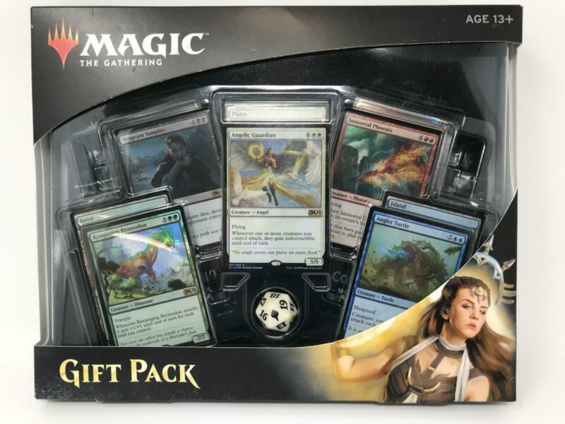 2018 Magic the Gathering MTG Gift Pack Box 4 Booster Packs with Foils (inv:A2)