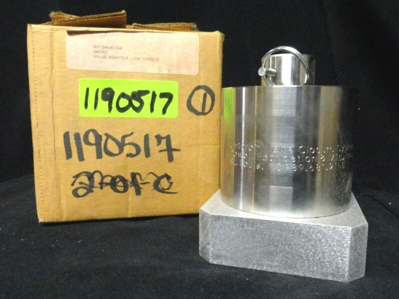 UNIPRO POWELL 905-04590-004 Valve ADAPTER Low TORQUE Closing Only (NEW IN BOX)