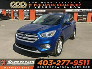 2018 Ford Escape SEL / Leather / Sunroof / Back Up Cam