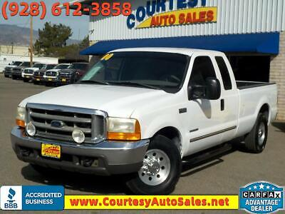 """2000 Ford F-250 Supercab 158"""" XLT 2000 Ford Super Duty F-250 Supercab 158"""" XLT 358647 Miles White Truck 8 Cylinder"""