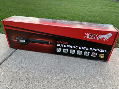 Mighty Mule Light Duty Single Swing Automatic Gate Opener MM260