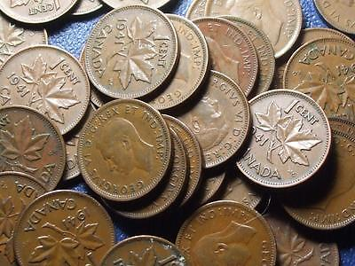 1941 CANADIAN SMALL CENTS KING GEORGE VI        BUY ONE OR BUY THEM ALL