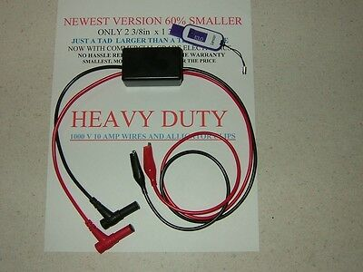 DVA DIRECT VOLTAGE PEAK  READING ADAPTER WITH ALLIGATOR CLIPS  LIFETIME WARRANTY