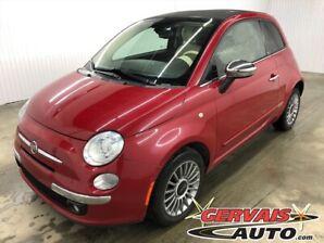Fiat 500c Convertible Cuir MAGS *Bas Kilométrage* 2013
