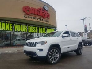 2018 Jeep Grand Cherokee Limited PANO ROOF NAVI 20'S HITCH LUXUR