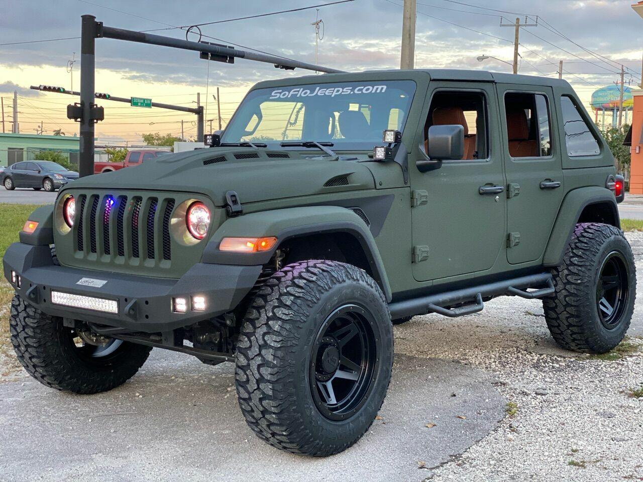 2021 jeep wrangler custom twin turbo diesel premium