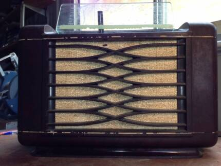 Phillips Radioplayer 115 valve radio Willetton Canning Area Preview
