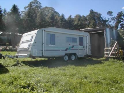 Coromal Caravan,  6 metre, 2001 build.
