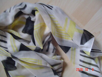 Schal  Tuch Soyaconcept  lemon drop combi   NEU ()