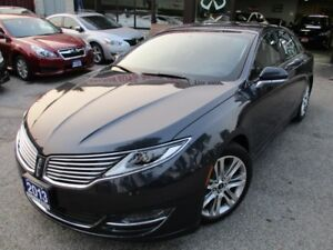 2013 Lincoln MKZ PRM-PKG-LOADED-NAVIGATION-CAMERA