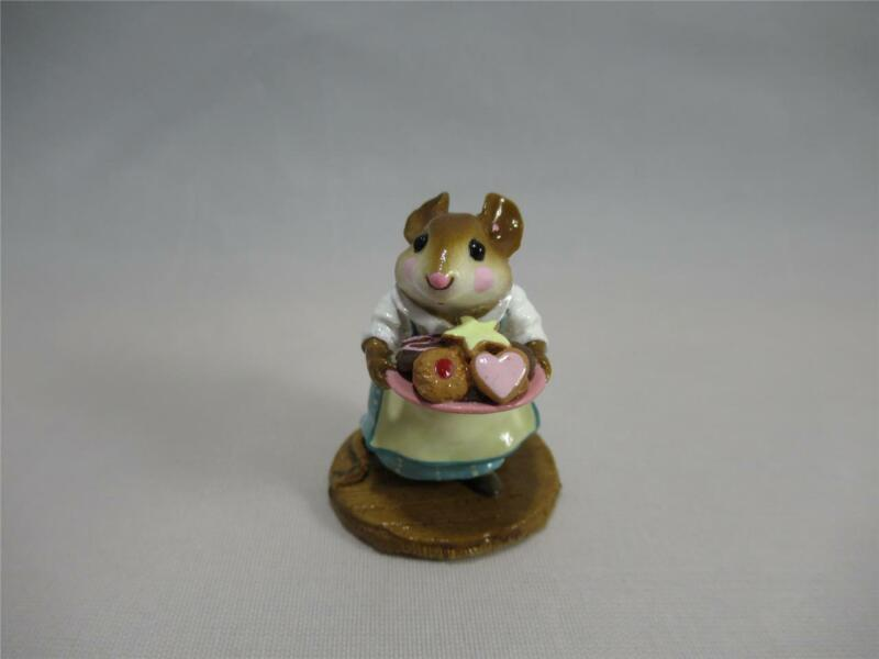 Wee Forest Folk Sugar & Spice Teal Dress Assorted Cookies - Retired WFF