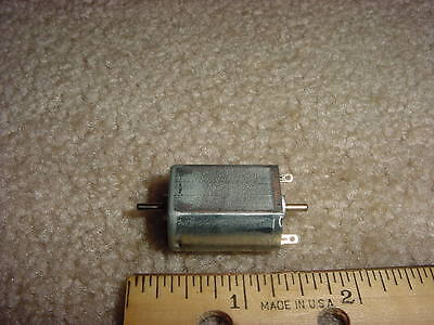 Small Dc Electric Motor 1- 4 Vdc 5400 Rpm 5.8 G-cm M45