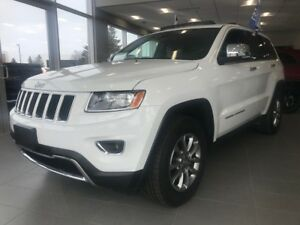2016 Jeep Grand Cherokee LIMITED+CUIR+TOIT+MAGS+FULL ÉQUIP LIMIT