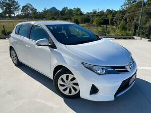 2013 Toyota Corolla ZRE182R Ascent S-CVT White 7 Speed Constant Variable Hatchback Cooroy Noosa Area Preview