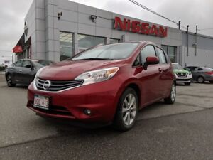 2014 Nissan Versa Note SL with Only 50,000 KM!!! $106 BiWeekly