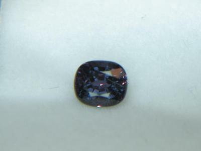 1.30CT GIA REPORT GREENISH BLUE TO PURPLE PYROPE-SPESSARTINE COLOR CHANGE GARNET