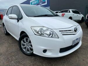 2010 Toyota Corolla ZRE152R MY10 Ascent White 4 Speed Automatic Hatchback Hoppers Crossing Wyndham Area Preview