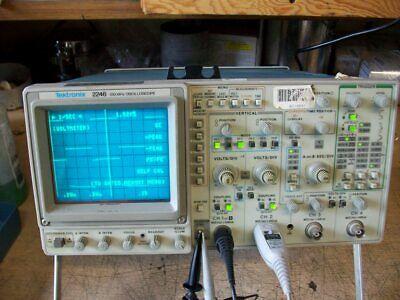 Tektronix 2246 Oscilloscope 4 Channel 100 Mhz Bandwidth Tested Working