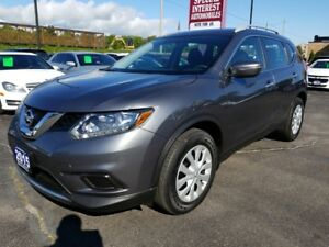 2015 Nissan Rogue S CLEAN CAR PROOF REPORT !!  ONE OWNER LEAS...