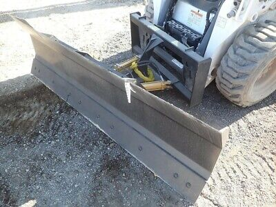 New Hd 896 Snow Plow Skid Steer Loaderbobcatcase Holland Tractors-mahindra.