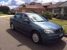 2001 Holden Astra Sedan Lugarno Hurstville Area Preview