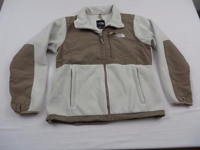 The North Face Womens Denali Fleece Jacket Size Medium Polartec Brown Coat Zip (Denali Jacket Fleece Coat)