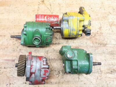 4 Used Vintage Tractor Combine Equipment Hydraulic Pumps