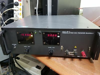 Takasago Hv1.5-1 Regulated Cvcf Dc Power Supply 1500v 100ma