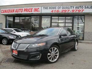 2011 Lincoln MKS AWD-S-NAV-CAMERA-LEATHER-PANO-ROOF-SENSOR-BLUET