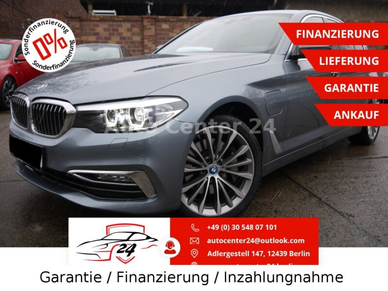 BMW 530 e Luxury Line Hybrid Head Up Display