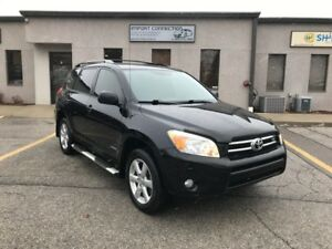 2007 Toyota RAV4 Limited V6 AWD,7 PASSENGER,SUNROOF,NO ACCIDENTS