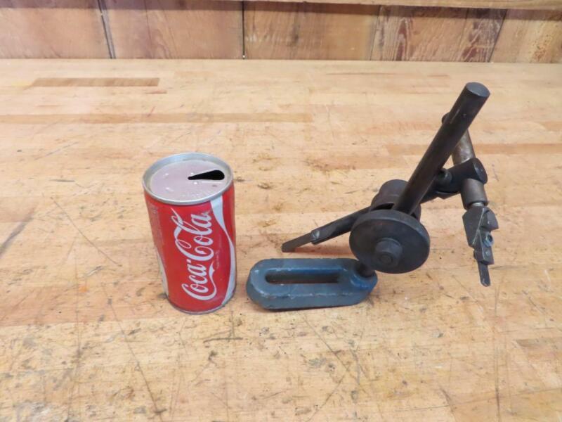 Good Used Vintage Machinist Metal Lathe Set Up Gauge Tool ???