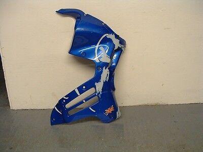 TRIUMPH TIGER 900 RIGHT HAND SIDE FAIRING PANEL   CASPIAN BLUE