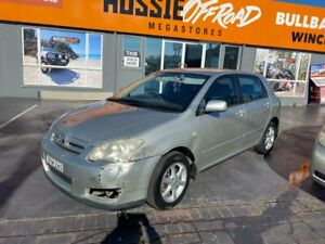 2005 Toyota Corolla ZZE122R 5Y Conquest Silver 5 Speed Manual Hatchback